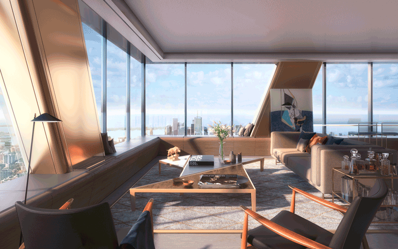 1 Bloor West Residences - Penthouse For Sale