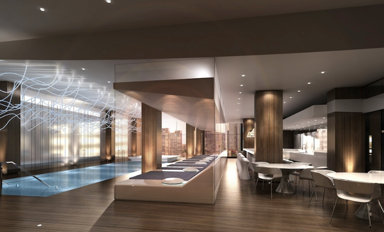 100 Harbour Condos - Pool and Bar - Harbour Plaza Residences