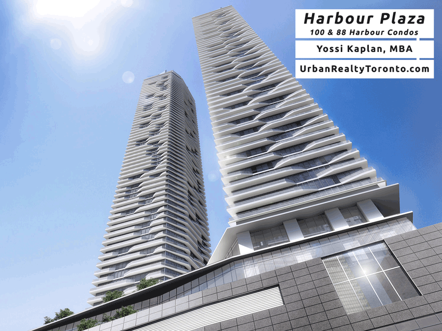 100 Harbour Condos for Sale - Harbour Plaza Residences - Contact Yossi Kaplan
