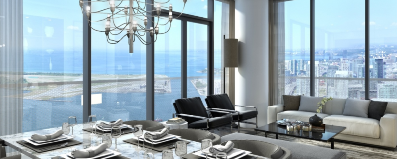 100 Harbour Condos for Sale - Penthouse Suite