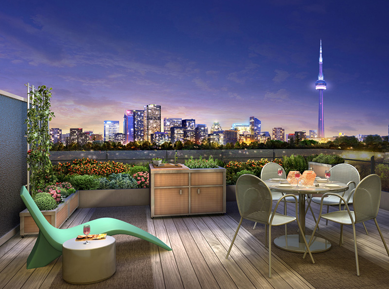 109 OSSINGTON CONDOS FOR SALE - BALCONY