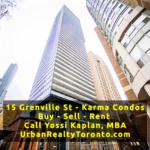 15 Grenville Condos for Sale – Karma Condos