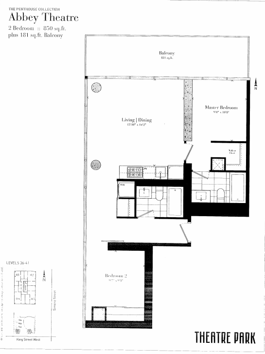 224 KING ST WEST - TWO BEDROOM 850 SQ FEET - CONTACT YOSSI KAPLAN