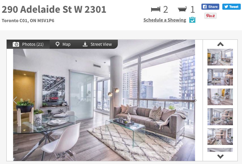 The Bond Condos @ 290 Adelaide West - Two Bedroom Condo for Sale - Call Yossi KAPLAN