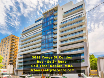 3018 Yonge Street Condos - Buy, Sell, Rent - Contact Yossi Kaplan