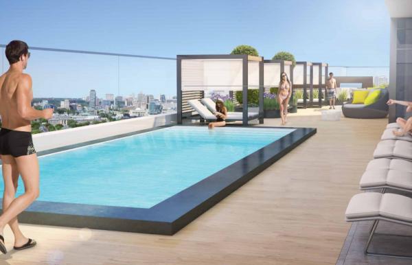 330 Richmond Condos pool