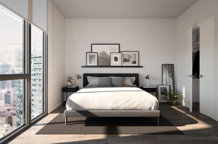 357 King West Condos - Master Bedroom