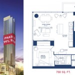 Maple leaf Square Condos Vancouver model for lease $2050