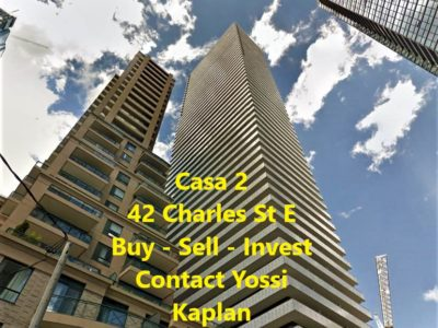 42 CHARLES STREET EAST - CASA 2 - CALL YOSSI KAPLAN