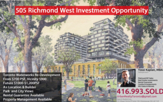 505 Richmond West – Waterworks Condos PLATINUM/VIP