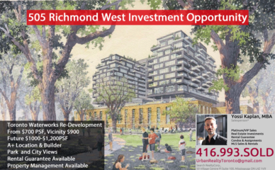 505 RICHMOND WEST - PRIVATE INVESTMENT OPPORTUNITY