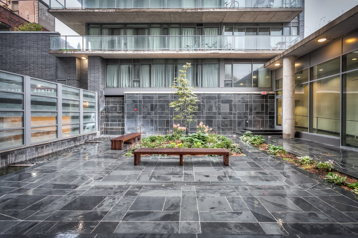 650 KING WEST CONDOS FOR SALE - COURTYARD