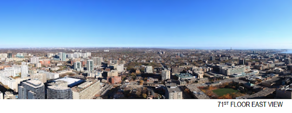 Aura Condos Penthouse View East