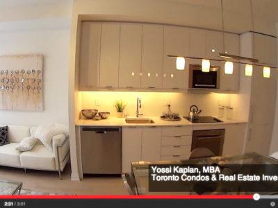 Axium Condos Investor Suites on Adelaide - Model Suite Video Walk Through by Yossi Kaplan, MBA.