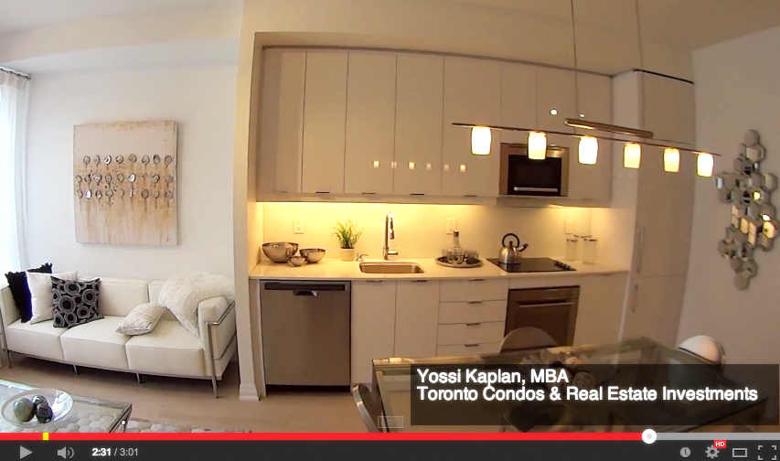 Axium Condos Investor Suites on Adelaide - Model Suite Video Walk Through by Yossi Kaplan, MBA.