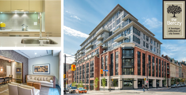 THE BERCZY CONDOS FOR SALE