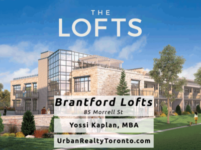 Brantford Lofts at 85 Morrell - Contact Yossi Kaplan