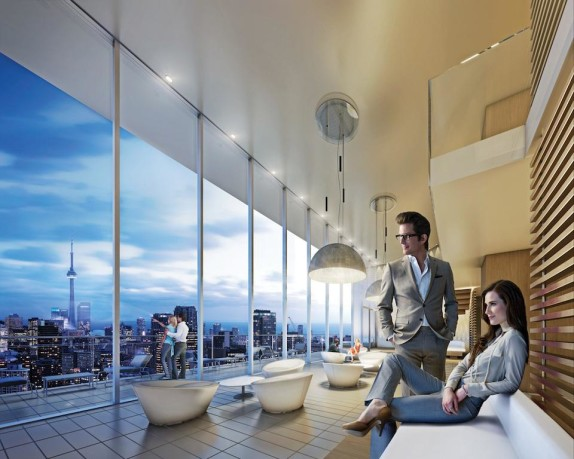 CHAZ CONDOS 45 CHARLES ST EAST PARTY ROOM