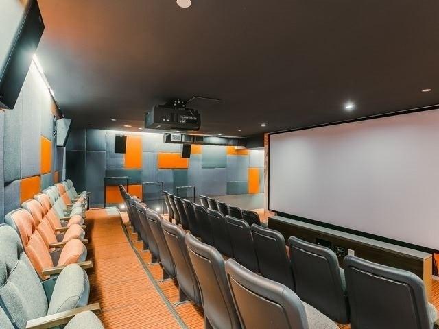 CINEMA TOWER CONDOS FOR SALE - THEATRE ROOM - CALL YOSSI KAPLAN