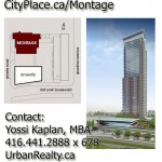 CityPlace Montage 1-Bed Condo For Sale (assignment)