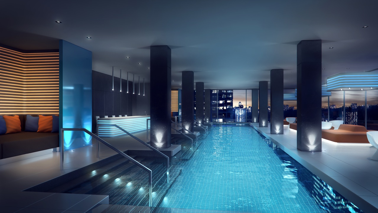 E CONDOS POOL SPA AMENTIES - YONGE AND EGLINTON ASSIGNMENTS