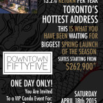 Invitation: East Fifty Five Platinum VIP Launch