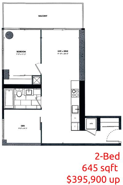 EAST FIFTY FIVE CONDOS - PLATIMUN VIP LAUNCH - 645-sq-ft