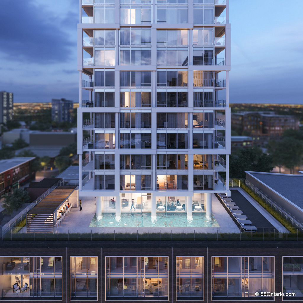 EAST55 CONDOS - 55 ONTARIO ST - POOL - CONTACT YOSSI KAPLAN
