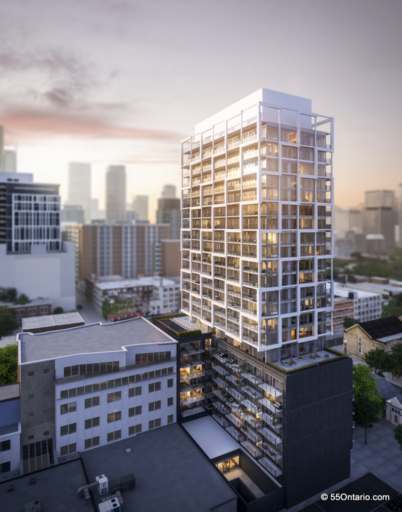 EAST FIFTY FIVE CONDOS - 55 ONTARIO ST