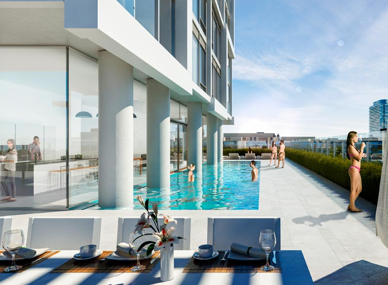 EAST55 CONDOS - POOL - CONTACT YOSSI KAPLAN