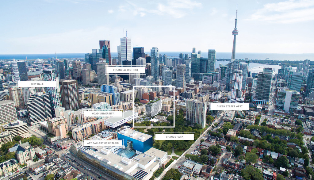 TORONTO CONDOS FOR SALE - AERIAL VIEW - CONTACT YOSSI KAPLAN