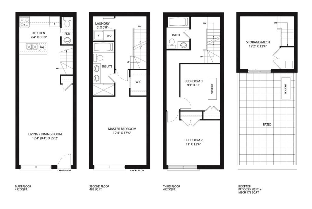 Heritage towns 26 ernest avenue for Kaplan floor plan