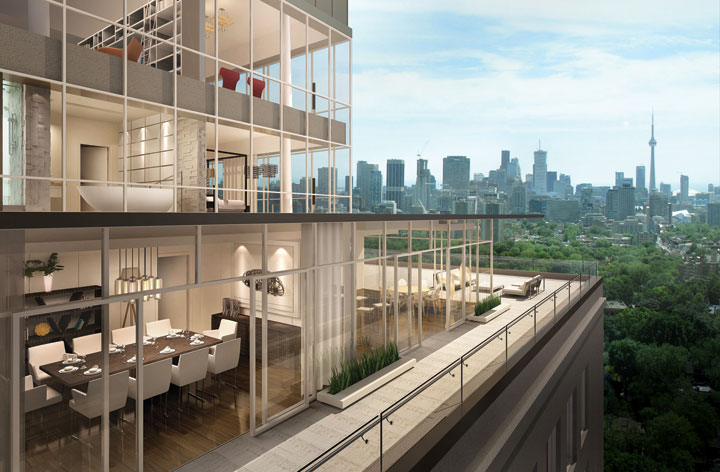 IMPERIAL PLAZA CONDOS - VIEW