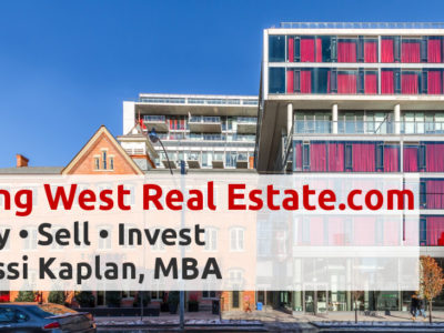 King West Real Estate - Buy Sell Invest King West Condos with Yossi Kaplan, MBA