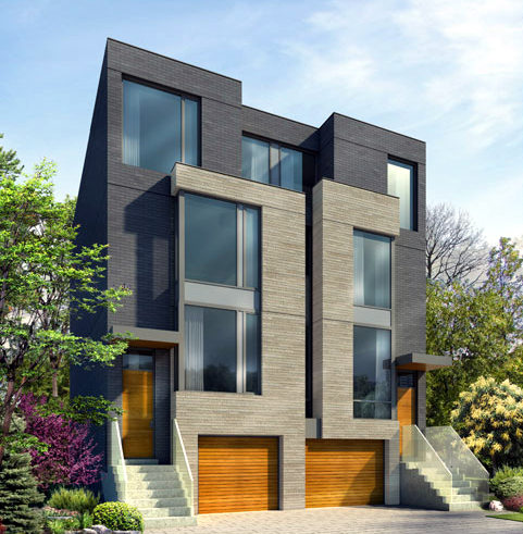Townhome archives toronto condos for sale by yossi for Modern house toronto