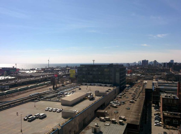 Views from One Bedroom Condo For Rent @ 69 Lynn Williams