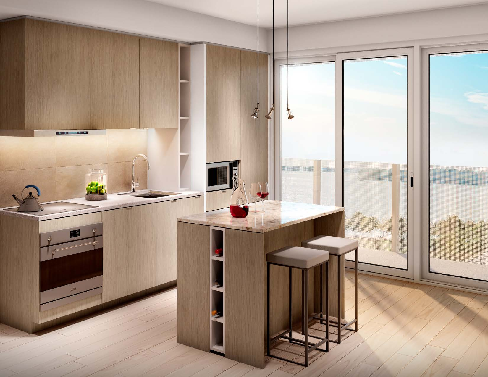 Lakeside Condos for Sale - Kitchen