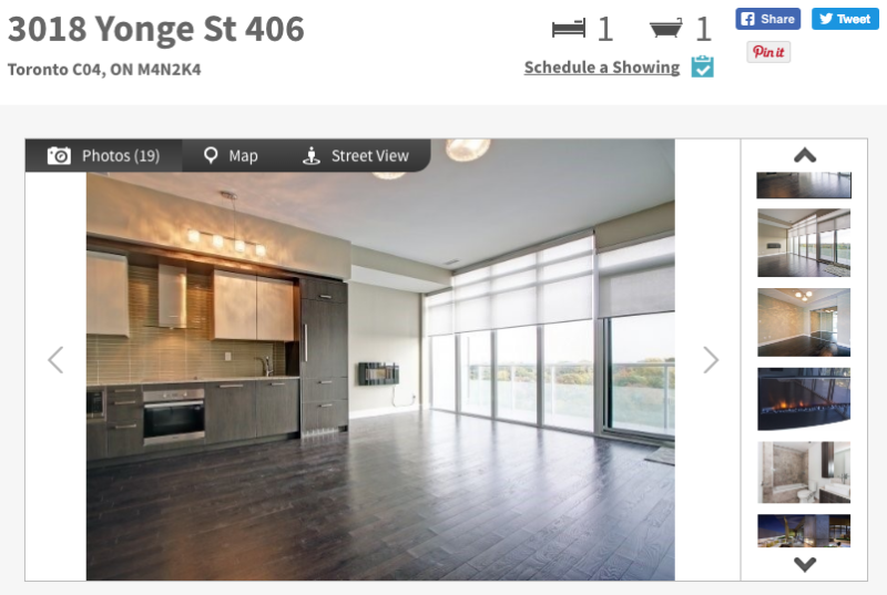 Large One Bedroom for Sale at 3018 Yonge St - Contact Yossi Kaplan