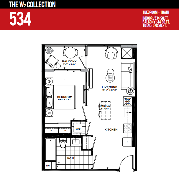 MINTO WEST SIDE CONDOS FOR SALE - 534 SQ FT - CONTACT YOSSI KAPLAN