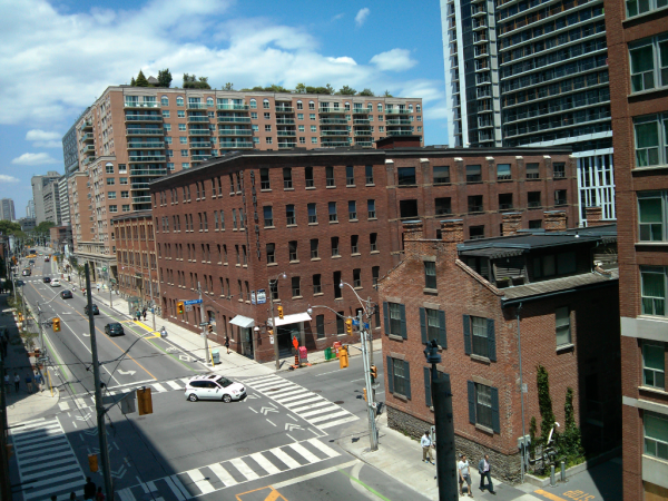 MoZo Lofts - VIEW NORTH