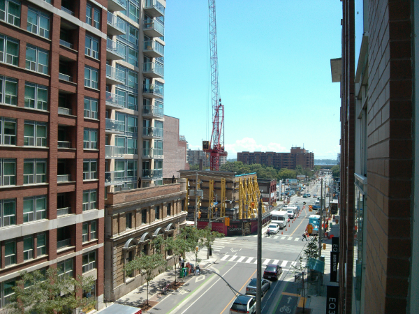 MoZo Lofts - VIEW SOUTH