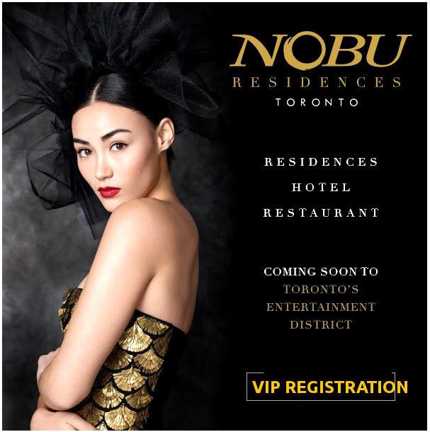 Nobu Residences 15-35 Mercer Platinum/VIP Launch - For Priority Access Register with Yossi Kaplan