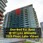 One Bed Condo For Rent @ Liberty Village