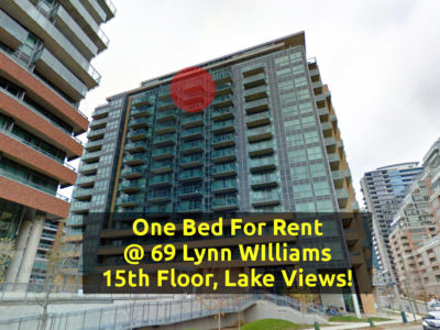 One Bedroom Condo For Rent @ 69 Lynn Williams - Contact Yossi Kaplan