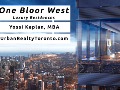 One Bloor West Condos - Contact Yossi Kaplan