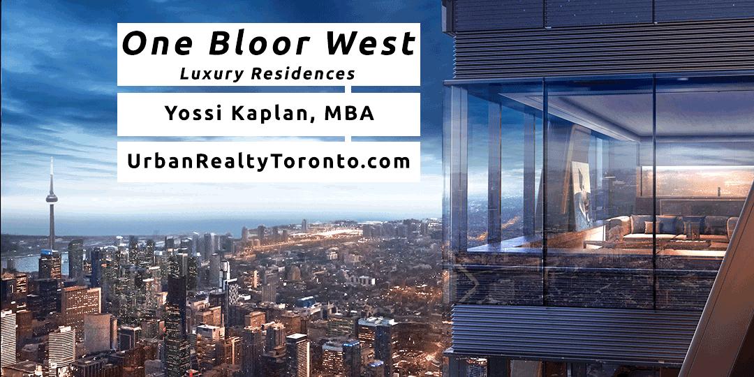 One Bloor West Condos - Contact Yossi Kaplan
