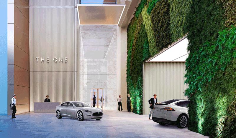 One Bloor West - Parking Garage