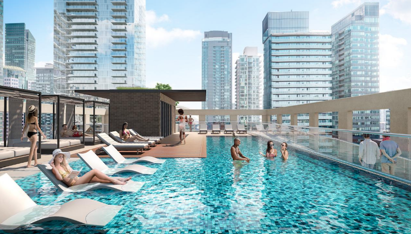 Peter and Adelaide Condos - Pool Terrace