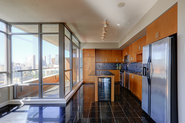 RADIO CITY CONDOS - KITCHEN - CONTACT YOSSI KAPLAN
