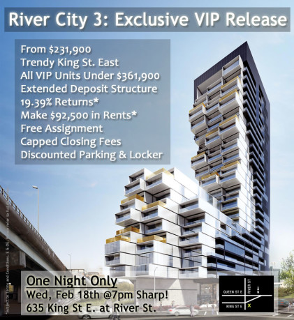 RIVER CITY 3 - VIP Sale